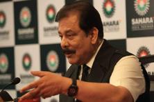 A file photo of Sahara chief Subrata Roy. Photo: HT