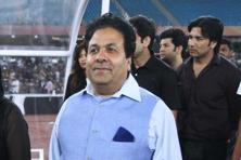 A file photo of Rajiv Shukla. Photo: Raajesh Kashyap/Hindustan Times