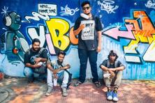 The Third Kind Graffiti Crew-T3k, arguably Chennai's first Graffiti crew. Photo: Nathan G/Mint