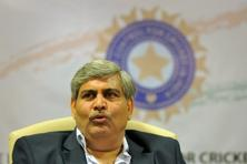 A file photo of BCCI president Shashank Manohar. Photo: AFP