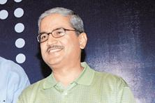 A file photo of Rakesh Gangwal. As of end-March, according to the company's filings, it had a positive net worth of Rs426 crore. The company has said that its net worth will soon be back in positive territory. Photo: HT