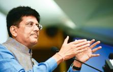 Power minister Piyush Goyal expressed confidence that the bailout will be a success this time because of the hard budget constraints being put on the states to ensure that their SEBs do not slip back into losses. Photo: Ramesh Pathania/Mint