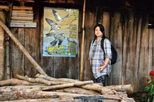 Haralu convinced people to stop hunting Amur falcons. Photo: Ramki Sreenivasan/Conservation India