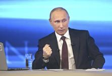 Vladimir Putin says Russia will have to respond to any future air incidents. Photo: Reuters