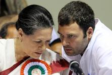 A file photo of Congress president Sonia Gandhi (left) and vice president Rahul Gandhi. Photo: Sanjeev Verma/HT
