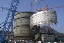 A file photo of Westinghouse's AP1000 reactor design at the Sanmen plant. In a statement, Westinghouse said it expected India would move towards a framework that satisfies the CSC and channels accident liability exclusively to the operator.