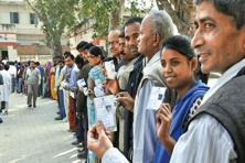 The Indian state is by and large able to enforce that every citizen has the right to cast a single vote; it is less successful in encouraging more people to vote; and even less so, in making people vote for the right considerations. Photo: Hindustan Times