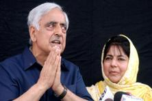 Mufti Mohammad Sayeed's daughter Mehbooba Mufti is expected to replace him as the chief minister of J&K. Photo: AFP