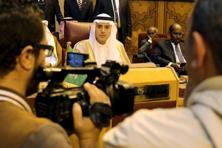 Saudi foreign minister Adel al-Jubeir attends the Arab foreign minister's meeting at the Arab League in Cairo. Photo: Reuters