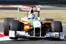 Force India's co-owner and principal Vijay Mallya, the liquor baron, said last October that the team were discussing a potential three-way deal involving the British sports car marque Aston Martin and whisky brand Johnny Walker. Photo: AP