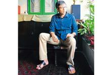 Amit Chaudhuri  at his south Kolkata residence. Photo: Indranil Bhoumik/Mint