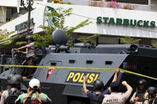 The attack was planned by an Indonesian militant called Bahrun Na'im, who is believed to be in Syria where he commands an Indonesian militant brigade, Jakarta Police chief Tito Karnavian said Thursday. Photo: Reuters