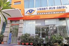 A file photo a Vasan eye care centre in Delhi. Photo: Bloomberg