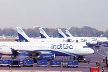 Investors have two major concerns: first, reported profit for the year so far has turned out to be far lower than expectations. Then there is the uncertainty regarding the delay in the deliveries of A320neo aircraft. Photo: Ramesh Pathania/Mint