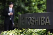 Toshiba has been focusing on nuclear and other energy operations, as well as its storage business, which centres on NAND flash memory chips used in smart phones. Photo: Bloomberg
