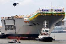 In 2014, INS Vikrant was dismantled and sold as scrap metal. Bajaj Auto purchased the Vikrant metal and processed it to be a part of its new brand. Photo: AFP