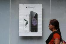 In an earnings call in which the company reported meager iPhone growth and forecast its first revenue drop in 13 years, the Indian market stood out as a rare bright spot for Apple. Photo: Reuters