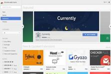 Chrome extensions are available on Chrome's web store