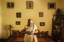 My grandmother, Kalyani, with the Kodak Brownie, 2013. Photographs: Shan Bhattacharya