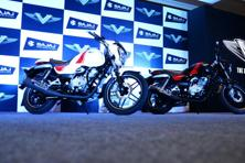 To be priced around Rs60,000-70,000, Bajaj is hoping to strengthen its position in the 150cc market by creating a new segment of so-called 'solid commuter bikes'. Photo: Ramesh Pathania/ Mint