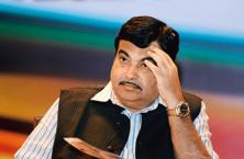A file photo of Union transport minister Nitin Gadkari. Photo: AFP