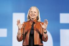 Ginni Rometty, chairman, president and CEO of IBM. Photo: Reuters