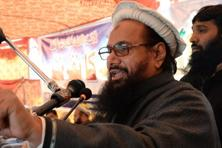 "That Hafiz Saeed is free to do what he does should be a ""matter of grave concern to everyone"", Vikas Swarup said noting that in October, Pakistani authorities had imposed an embargo on telecasting Saeed's rallies. Photo: AFP"