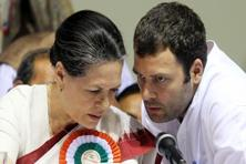 A file photo of Sonia Gandhi (left) and Rahul Gandhi. Photo: HT