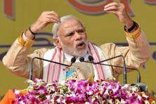 PM Modi alleged that 'one family' was indulging in 'negative politics' and claimed that there are leaders in opposition parties other than Congress who want Parliament to function even though they oppose him. Photo: PTI