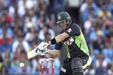 A file photo of Australian all-rounder Shane Watson. Photo: AP