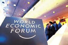 This year, the annual meeting of the World Economic Forum at Davos focused on the impact of the fourth industrial revolution. Photo: Bloomberg