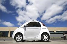 A potential bump in the road popped up in December, when California motor vehicle department officials proposed self-driving car regulations that included mandating that a person could take the wheel if needed. Photo: AP