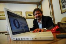 A file photo of Jon S. von Tetzchner, co-founder of Opera software. Opera's browser division now specialises in compressing data to minimise download times and costs for subscribers, making it popular in emerging market economies. Photo: Mint
