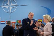 "US General Philip Breedlove  and German defence minister Ursula von der Leyen at the council of defence ministers at the Nato headquarters. Breedlove told the mission plan would be refined during the time they were en route, which was in ""about 24 hours"". Photo: AFP"