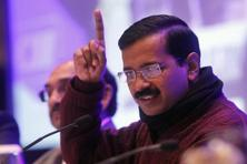 A file photo of Arvind Kejriwal. InstaVaani polled 545 respondents across Delhi for their opinion on the performance of AAP, which came to power after winning in last year's assembly election. Photo: HT