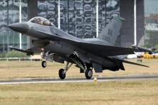 A file photo of F-16 fighter jet. Photo: Bloomberg