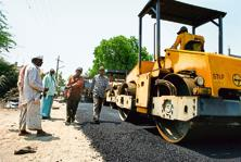 Road construction companies will gain from order inflows and government support to see projects completion soon, while some scepticism on ordering out remains as clarity on manner of outlay of funds for roads is awaited. Photo: Mint