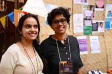 Japleen Pasricha (left), founder and editor-in-chief, Feminism in India, and Swetha, content strategist, Feminism in India. Dandapani. Photo: Mint