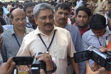 Manohar Parrikar says he thinks a good buyer does not put his weakness in front, he always keeps his cards close to his chest. Photo: PTI