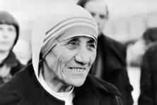 A file photo of Roman Catholic nun Mother Teresa, received the Peace Nobel Prize 1979. Photo: AFP