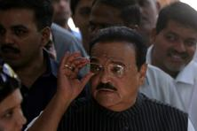 File photo. Bhujbal was arrested by ED sleuths on Monday night in connection with an investigation into the government contracts that he awarded as public works department minister during the previous Congress-NCP regime in Maharashtra.  Photo: Kunal Patil/HT
