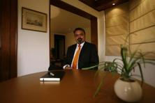 A file photo of Ravi Thakran, managing partner, L Capital Asia, who said that the company has been unable to identify any compelling opportunities in India. Photo: Mint