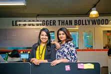 Priyanka Agarwal (left) and Anshulika Dubey. Photo: Aniruddha Chowdhury/Mint