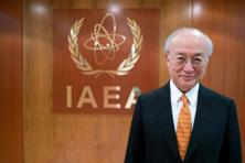 "A file photo of IAEA chief Yukiya Amano, who said that ""nowadays terrorists have the means, the knowledge and the information,"" to make basic nuclear weapons. Photo: AFP"