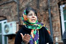 Mehbooba Mufti, president of the People's Democratic Party. Photo: AFP
