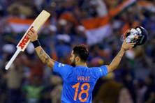 Virat Kohli's innings was of the highest calibre, an absolute masterclass in crease management. Photo: PTI