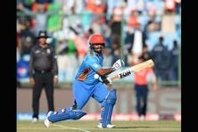 Mohammad Shahzad has a way of becoming the epicentre of action on a cricket field if he's part of the match. Photo: AFP