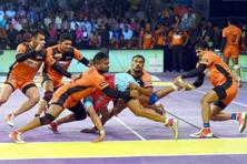 Sponsorship for Pro Kabaddi League grew fourfold, as revenue expanded to Rs48 crore in 2015, despite the absence of a title sponsor. Photo: PTI