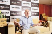 Jeff Bezos, chief executive of Amazon.com. Photo: Hemant Mishra/Mint
