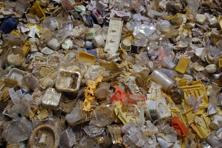 A file photo of plastic waste for recycling. Once underground, plastic will fossilize well, leaving a distinct signature. Photo: Ramesh Pathania/Mint